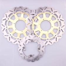 Golden Front Rear Brake Discs Rotor Kits fit For 2000-2001 Honda CBR929RR 00 01