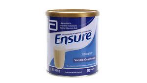 Ensure Vanille Milch Pulver Trinknahrung 400g PZN 6972603 (24,13 EUR/kg)