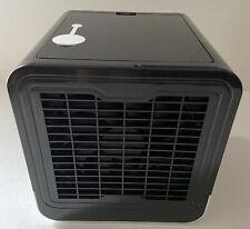 Portable Evaporative Cooler Humidifier Mini Desktop Cooling Fan w/ 7 LED light