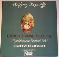 Mozart Cosi Fan Tutte Glyndebourne Festival 1935 Fritz Busch Turnabout Vox 3 LPs