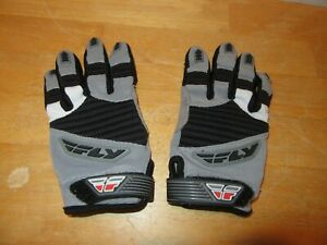Fly Racing 303 Motocross Riding Gloves Adult Size XS (7) Black Gray Dirt Bike