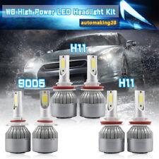 9005+H11+H11 LED Headlight White Combo Bulbs Kit for 2015-2018 Ford F-150 SUV US