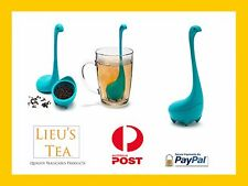 Nessie Lochness Monster Tea infuser Novelty Loose leaf Strainer Coffee Gift Cute