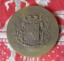 ancienne medaille bronze lyon industrie de la voiture 25e anniversaire