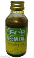 BUY 2 GET 1 FREE 100ml - 100% PURE NEEM OIL Dandruff Itchy Scalp Hair Skin Care