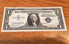 1957-B Silver Certificate Dollar Bill Consecutive Fresh Crisp Uncirculated