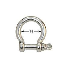 Edelstahlschäkel geschweift 3mm <10-St.Pack>7, PZ8403-10