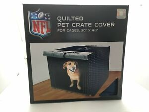 """NFL 48"""" Quilted Pet Crate Cover, Dallas Cowboys"""