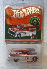 2009 HOLIDAY CAR RLC Redlines HOT WHEELS '55 CHEVY w/ SNOWMOBILE - SANTA SPEED