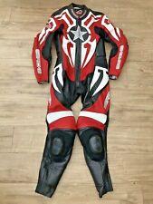 HEIN GERICKE One piece leather motorcycle motorbike riding suit UK 34