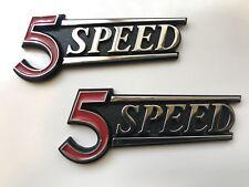 DATSUN 510 (5 SPEED) NEW rear hatch or trunk emblem Badge (Pair)