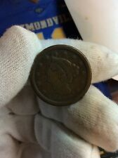 1851 Braided Hair Large One Cent 1c Coin