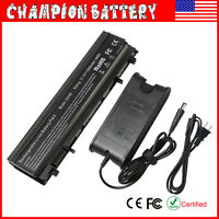 6 Cell For Dell Latitude E5440 E5540 Laptop Battery Type VV0NF NVWGM / Charger