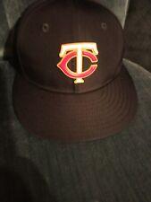 New listing Minnesota twins new era fitted hat size 6 7/8