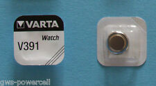 1 x VARTA Uhrenbatterie V391 SR1120W 42mAh 1,55V SR55 Knopfzelle AG8