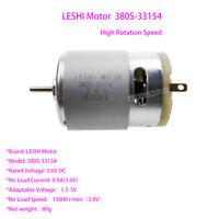 380S-33154 3.6V LESHI Motor15000RPM High Speed Motor DIY Model Electric Tools FY