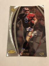 1998 STEVE YOUNG COLLECTOR'S EDGE MASTERS SILVER PREVIEW CARD # 150 49ERS