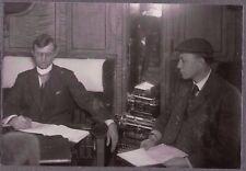 VINTAGE PHOTOGRAPH 1904 MEN'S FASHION OF ERA SALESMAN SHOW HOTEL ZOAR OHIO PHOTO