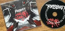 "THE PRODIGY, ""WARRIOR'S DANCE"". MEGA RARE 2009 UK 2 TRACK PROMO CD IN JEWEL CASE"