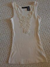 Off-White Mixit Petite Ladies' Embroidered Tank Top (#1662)