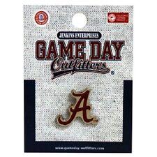 Alabama Crimson Tide Lapel Pin [NEW] Roll Tuxedo Tie Clip Metal Button NCAA