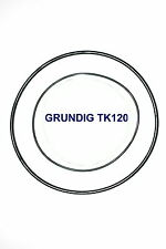 COURROIES SET GRUNDIG TK120 MAGNETOPHONE A BANDE EXTRA FORT NEUF FABRIQUE TK 120