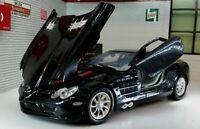 1:24 Scale Black Mercedes McLaren SLR Coupe Detailed Diecast Model Car 73306
