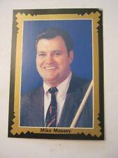 Mike Massey 1993 Pro Billiards Tour, Portrait, Card #17 (MS-15)