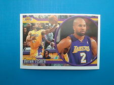 2010-11 Panini NBA Sticker Collection n.296 Derek Fisher Los Angeles Lakers