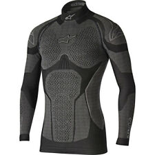 Motorcycle Alpinestars Ride Tech LS Winter Top - Black Grey UK 8051194990044 XXL