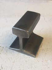 "Small Railroad Track Anvil Jewelers Blacksmith Hobby 2"" Long 2"" Tall Fast Ship"