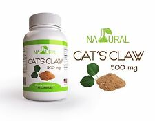 Cats Claw 500 mg 60 caps, Una de Gato, Kidney, Arthritis Fatigue Infections, bio