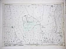 Old Antique Ordnance Map 1929 Yorkshire CXIX.2 Ripon & North Lees