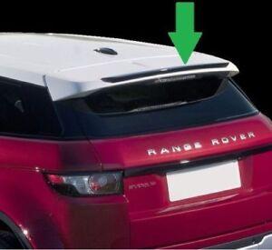 Carbon Fibre  Range Rover Evoque ROOF Extension Lip Spoiler  AERODYNAMIC UK