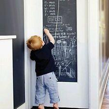 Noir Ardoise Contact Papier Craie Conseils Mur Décalques Pour Enfants Bébé Art