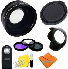 Wide Angle Macro Lens Kit for Canon Rebel SLR 700D 650D 600D 550D 500D 450