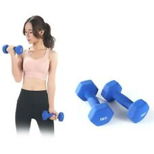 Fitness Coated Color Small Dumbbells Hexagonal Dumbbells Fitness Equipment