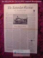 SATURDAY REVIEW November 4 1933 Padriac Colum Dorothy Parker Ogden Nash