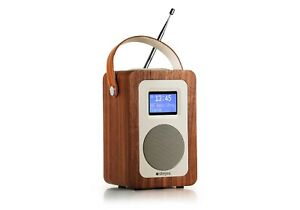 DAB+ Radio with Bluetooth by Steljes Audio in Walnut