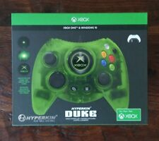 The Duke Wired Controller (Green) for Xbox One & Windows 10 by Hyperkin NEW
