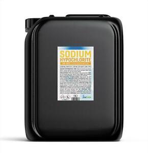 Sodium Hypochlorite 14-15% Patio Cleaner Swimming Pool Liquid Chlorine 5 Litre