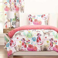 SIS Enterprises Inc Purrty Cat Two Piece Twin Comforter Set  NEW
