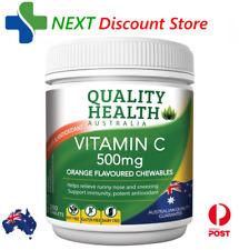 Quality Health Vitamin C 500mg 200 Tablets