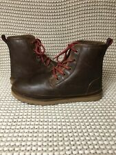 UGG Harkley Grizzly Waterproof Leather Chukka Boots Shoes Size US 10 Mens New