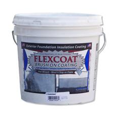 STYRO Industries 2 Gal. Concrete Grey FlexCoat Brush on Foundation Coating Home