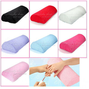 Soft Hand Cushion Pillow Rest Tool for Nail Art Manicure Color Choose