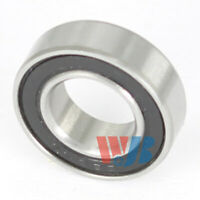 Miniature Ball Bearing 7x14x5mm WJB 687-2RS with 2 Rubber Seals