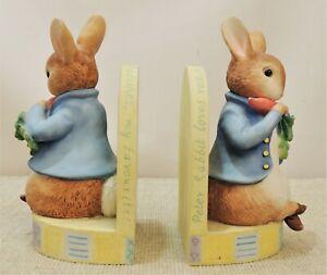 Border Fine Arts Beatrix Potter Peter Rabbit Bookends - Thames Hospice