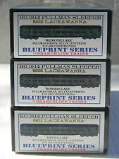 HO Scale - Branchline - Set of (3) Lackawanna Pullman Passenger Train Kits!