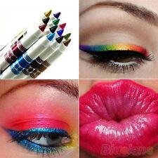 12 Colors Makeup Set Cosmetic Glitter Eye Shadow Lip Liner Eyeliner Pencil Pen